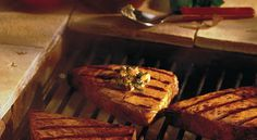 Tired of the same old tuna and salmon? Give grilled swordfish a try. Grilled Fish Recipes, Grilling Recipes, Cooking Recipes, Grilled Swordfish, Swordfish Recipes, Seafood Diet, Seafood Recipes, Wheat Free Recipes, Low Carb Recipes