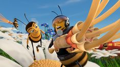 Everything I know about bees I learned from Barry E. Benson in Bee Movie...