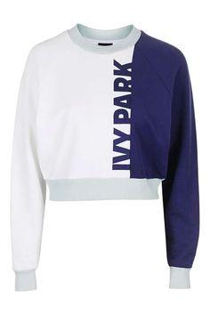 Colour Block Detailed Sweatshirt by Ivy Park - Ivy Park - Clothing - Topshop