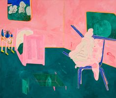 Tahnee Lonsdale is a painter of vibrant semi-abstract narratives. They contain illustrated characters and make references to religion, literature and art history. Figure Painting, Love Art, Art History, Seventeen, Literature, Religion, Vibrant, Abstract, Illustration