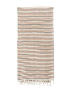 Handwoven in Mexico by skilled artisans, our Blush Striped Hand Towel is cotton. It's easy to style neutral tones blend seamlessly with existing decor, for a useful and chic addition to your kitchen or bathroom space. Hand Towels, Tea Towels, Hello Fashion Blog, Metal Easel, Kitchen Pendants, Gold Kitchen, Kitchen Backsplash, Textures And Tones, Kitchen
