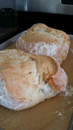My home made sicilian bread