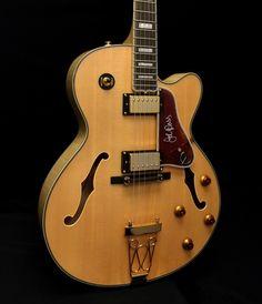 Epiphone Joe Pass Emperor II Hollowbody Electric Guitar - Natural - MIK | Reverb