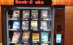 Library Books, New Books, Book News, Book Launch, Vending Machine, Latest Books, Pinball, Kenzo, Jukebox