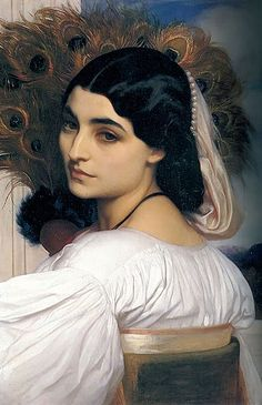 Pavonia by Lord Frederick Leighton :: Lord Frederic Leighton :: Pavonia by Lord Frederic Leighton Charles Edward, Frederick Leighton, Aesthetic Movement, Aesthetic Beauty, Pre Raphaelite, Classical Art, Beautiful Paintings, Oeuvre D'art, Art History