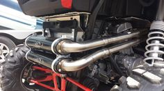 Polaris RZR 1000 XP with a Barkers Full Dual Exhaust System. Check it out at barkersexhaust.com #Quality #Durability #Performance #NeverSacrificed