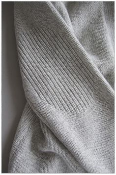 Elbow Patches! Detail of knitted Open Cardigan by measyou                                                                                                                                                      More