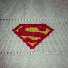 toalha de boca Super Homem