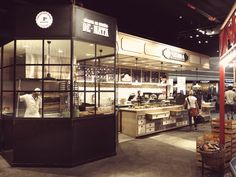 O Mercado restaurant – food court by GAC3000, Lisbon – Portugal » Retail Design Blog