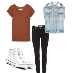 Laid back. Outfit by polyvore! Cute!