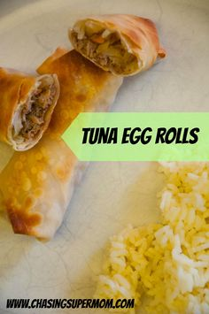 Tuna+Egg+Rolls+with+Ginger+Soy+Slaw+make+an+easy+and+delicious+weeknight+meal+the+whole+family+will+love!++#ad+#TunaStrong+#CG+