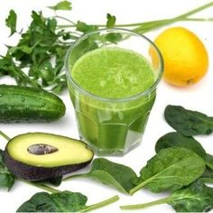 awokado ogórek szpinak pietruszka Smoothies, Healthy Drinks, Lemonade, Cantaloupe, Cucumber, Spinach, Parsley, Food And Drink, Fruit