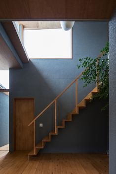 4 Times The Stair Decoration Would Make You Feel Amazed - Trend Crafts Facade Architecture, Sustainable Architecture, Japanese Modern House, Staircase Makeover, Stair Decor, Condo Living, Staircase Design, Staircase Ideas, House Painting