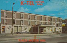 Plaza Motor Inn - Winnipeg, Manitoba (Currently the Osborne Hotel)