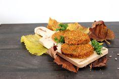 Déliacious : Galettes d'automne végétales à la courge butternut et au quinoa
