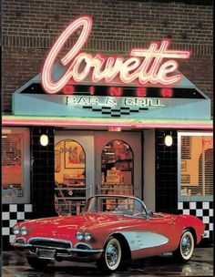 The Corvette Diner is the best place to take the family while in San Diego, CA. Fun for the whole family. : The Corvette Diner is the best place to take the family while in San Diego, CA. Fun for the whole family. Retro Wallpaper, Aesthetic Iphone Wallpaper, Aesthetic Wallpapers, Aesthetic Vintage, Aesthetic Photo, Aesthetic Pictures, Diner Aesthetic, Photo Wall Collage, Picture Wall