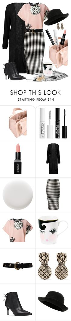 """""""Mad about Plaid"""" by loves-elephants ❤ liked on Polyvore featuring Corto Moltedo, Charlotte Russe, Smashbox, Boohoo, Deborah Lippmann, MSGM, Miss Étoile, ESCADA, Valentino and Nine West"""