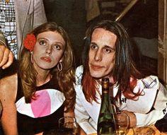 Bebe Buell, and Todd Rundgren . Bebe Buell, Todd Rundgren, Guy Bourdin, Marianne Faithfull, I Go Crazy, Seventies Fashion, Piece Of Music, Liv Tyler, Club Kids