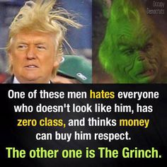 Funniest Donald Trump Memes: Donald Trump vs The Grinch