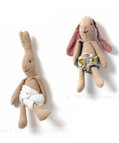 ░N░E░W░ Micro bunnies from Maileg http://knuffelsalacarteblog.blogspot.nl/2014/11/new-micro-bunnies.html