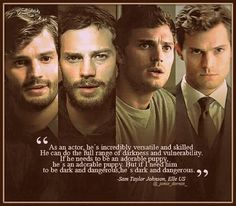 Jamie Dornan is the perfect actor ♥