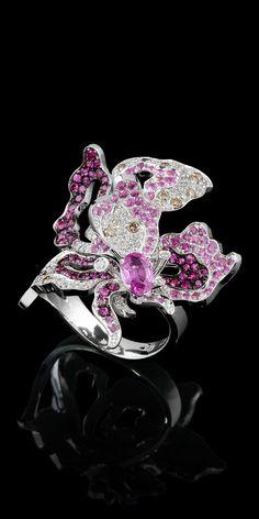 Master Exclusive Jewellery - Diamond Flowers - ring