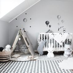 Stickstay (@stickstay.se) • Instagram photos and videos Baby Bedroom, Baby Room Decor, Nursery Room, Kids Bedroom, Nursery Decor, Ikea Curtains, Baby Mobile, Nursery Inspiration, Baby Boy Nurseries