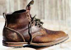 Viberg Roughout Service Boot