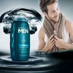 2-u-1 šampon i sredstvo za tuširanje čisti,obnavlja i hidrira kožu i kosu.