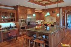 Kitchen Island Designs -A kitchen island perks up your kitchen as multifunctional space and gives you