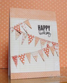 Birthday Bunting by Lucy Abrams, via Flickr