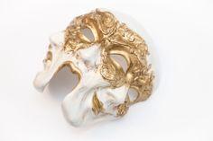 """Купить Венецианская маска """"Trifaccia"""" ( трехликая) в интернет магазине на Ярмарке Мастеров"""