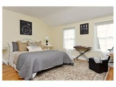 bulow staged master bedroom.  6 bulow place hingham ma