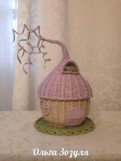 Мои работы | 199 фотографий Wicker Baskets, Fairies, Paper, Crafts, Ideas, Home Decor, Craft, Wicker, Diary Book