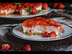 Cheesecake με φράουλες Lasagna, Ethnic Recipes, Food, Essen, Meals, Yemek, Lasagne, Eten