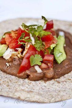 Clean Eating Recipes | Clean Eating BBQ Burritos