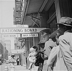 On October 30, 1945, the U.S. government announces the end of shoe rationing. The United States established a rationing system after the attack on Pearl Harbor, with typewriters, gasoline, bicycles, footwear, silk, nylon, fuel oil, stoves, meat, lard, shortening and oils, cheese, butter, margarine, processed foods (canned, bottled, and frozen), dried fruits, canned milk, firewood and coal, jams, jellies, and fruit butter being rationed as of November 1943. http://www.whatwasthere.com/b/63744
