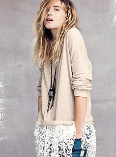 Free People Fall 2012 Store has this is a Heather Grey color!
