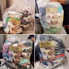 Our amazing Carry On 4 Babies and SOSA Support Ambassador in Cape Town, Retha has allocated the following bags of children's clothing for the following organisations:  70x pieces: Hagar Choice Safe House. 174x pieces: Little Brinks. 100x pieces: Little Lambs. 80x pieces: Hagar Choice Safe House.  Thank you again to the efforts of Ricoh International for bringing the 180 kg of children's clothing from Amsterdam to Cape Town!  #ProjectEaster2018