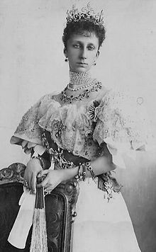 The Princess Maria Luisa of Bourbon-Parma (1870-1899). She was a daugher of The Prince Roberto I The Duke of Parma and his wife, The Princess Maria Pia of Bourbon-Two Sicilies. She was The Sovereign Princess of Bulgaria (1893-1899) as the wife of Sovereign Prince Ferdiand (later Tsar Ferdinand I). Her children were Tsar Boris III, The Prince Kiril, and The Princesses Evdokiya and Nadezhda.