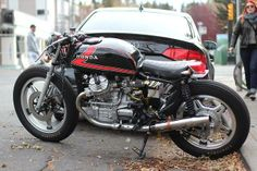 From Iron & Air. Honda GX500 Cafe. Nicely done!