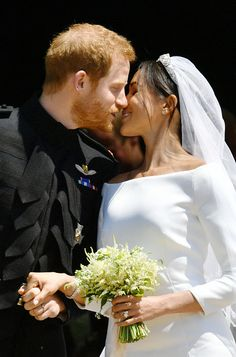First Kiss! - The Best Pictures Of Prince Harry And Meghan Markle's Royal Wedding  - Photos