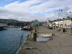 Carnlough is a village in County Antrim, Northern Ireland.  It has a picturesque harbour on the shores of Carnlough Bay.