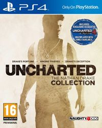 A PlayStation 4 bundle comprising of the three major installments of the action-adventure game series released over the years 2007-2011. The remastered versions were developed by Bluepoint Games in cooperation with the original creators - Naughty Dog. All three games feature an adventurer named Nathan Drake as the main protagonist, who travels to many exotic places in search of the legacy left by his ancestor (Drake's Fortune), a legendary artifact (Among Thieves), and finally, the lost city…