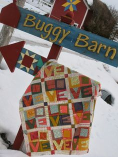 I love this crazy Love quilt! Buggy Barn Quilts