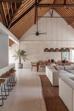 """The Project. on Twitter: """"Bali villas are sublime.… """" Interior Design Minimalist, Home Interior Design, Interior Architecture, Interior Decorating, Minimal House Design, Minimal Home, Architecture Plan, Home Design, Modern Interior"""