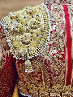 Intricate braiding often a part of the mens military dress costumes Traditional Fashion, Traditional Dresses, Folk Costume, Costumes, Matador Costume, Spanish Culture, Cosplay Tutorial, Native Style, Student Fashion