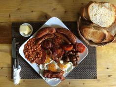 """The Heart Attack"" Full English Breakfast"
