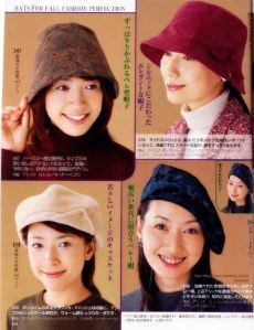 - View all images at Gorros, Patrones folder Hat Patterns To Sew, Sewing Patterns, Spring Hats, Winter Hats, Types Of Hats, Hat Tutorial, Diy Wardrobe, Fabric Manipulation, Hat Making
