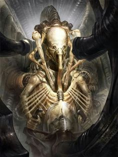 Meet the Pilot  Image: Space Jockey by Peter Kovacs: vispetya.cgsociety.org
